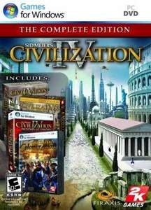 Civilization IV: Complete Edition Steam Key PC @ £2.15 @ INSTANT GAMING.