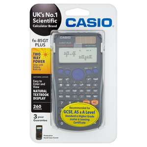 Casio FX85GT Plus Calculator | Black & Pink Available £8 -  Other Stationery Sale @ Tesco