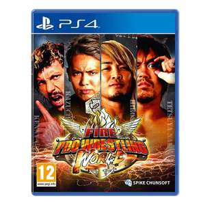 Fire Pro Wrestling World PS4 £32.99 @ 365Games