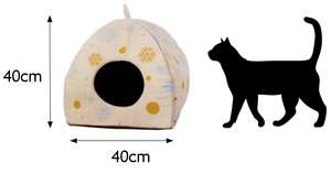Kokoba Igloo Bed (Winter Edition)  Only £3.25 + £2.99 delivery Pet Supermarket