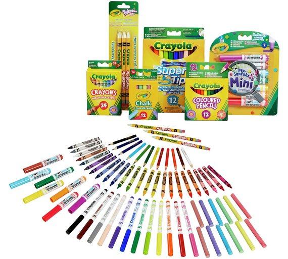 Crayola 70 Piece Stationery Set £12 each or 2 for £15 C+C @ Argos