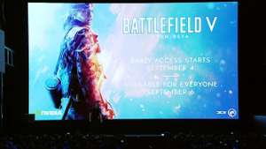 Battlefield V Open Beta 6th September (4/9 early access) for PC, XB1 and PS4