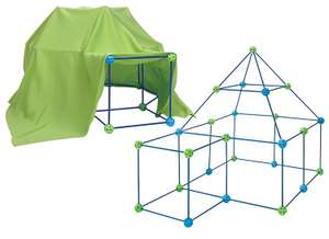 Build Your Own Den 75 Piece Kit - ONLY £9 Click & Collect @ The Works with code