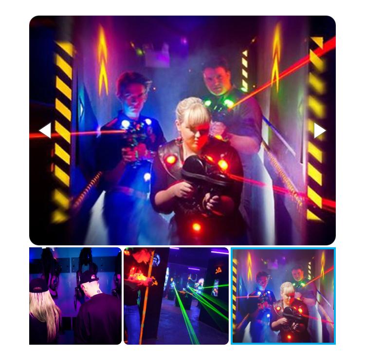 Laser Quest game for 4 people £8.80 Sheffield Sunderland Birmingham Glasgow