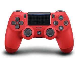 PlayStation Dualshock 4 Magma Red - £32.79 New - Music Magpie