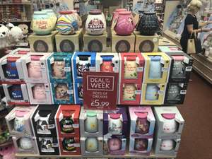 Disney & Other Money Pots £5.99 instead of £10 Deal of the Week in stores & now online also at Clinton Cards