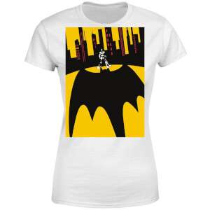 DC Comics Batman Bat Shadow White T-Shirt (Men & Womens available) £8.99 with free delivery @ MyGeekBox