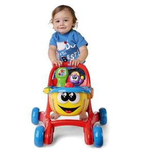 Chicco Happy Shopper 3 in 1 First Steps Activity Walker and Shopping Trolley (was £33.60) Now £16.80 C+C @ Boots