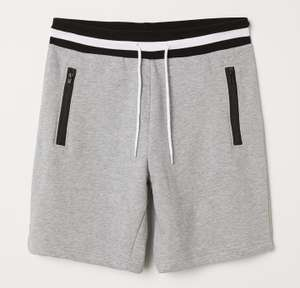 Grey Sweatshirt Shorts for £4.50 delivered with H&M Club @ H&M