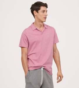 Pink Polo Shirt for £2.25 delivered using H&M Club @ H&M