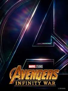AVENGERS: INFINITY WARS in 4K HDR for £17.99 on Amazon Prime Video