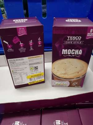 Tesco mocha and PG tips tea bags 20p and 50p instore (1st post if anything wrong )