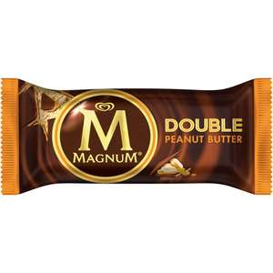 Magnum double peanut butter 3 for £1 jack Fulton's
