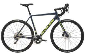 Cannondale CAADX Ultegra 2018 Cyclocross Bike £1399 (£1,299 after trade in of any bike in any condition) @ Evans Cycles