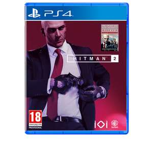PS4 and Xbox One pre-order for Hitman 2 with Sniper Assassin bonus game (and Hitman season 1 remastered: see description for hitman 1 details) @365games