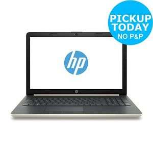 HP 15.6 Inch AMD Ryzen 5 2500u 2 GHz 8GB 1TB HDD Full HD Laptop - Gold £499.99 + £3.95 delivery @ Argos on eBay