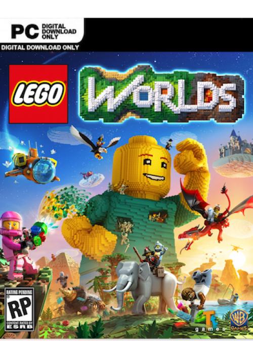 Lego Worlds PC + DLC. £4.99/£4.74 with FB code @ CD KEYS