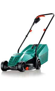 Bosch Rotak 32-12 Electric Rotary Lawnmower with 32 cm Cutting Width  @ Amazon for £48.99