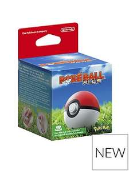 PokeBall Plus for Nintendo Switch / Pokemon Go £39.99 VERY