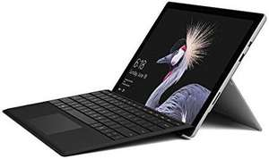 Microsoft Surface Pro 12.3-Inch PixelSense Tablet PC (Silver) with Black Type Cover - (Intel 7th Gen Core m3-7Y30 2.6GHz, 4GB RAM, 128GB SSD) £649.99 Amazon