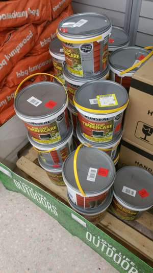 Ronseal Timbercare in store £1 @ Asda Luton
