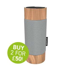 Kitsound Diggit Speakers - 2 For £50 (£39.99 each)