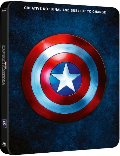 Captain America 1 - 3 - Zavvi Exclusive Steelbook £39.99 @ Zavvi Preorder