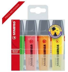 Extra 15% off Site e.g.  e.g. STABILO BOSS Original Highlighters Pack of 4 £1.69 (see post)  + Free next day delivery £10 spend @ Office Outlet