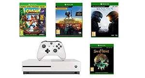 Xbox One S 1TB Sea of Thieves + Crash Bandicoot + Halo 5 + PUBG @ amazon £249.99