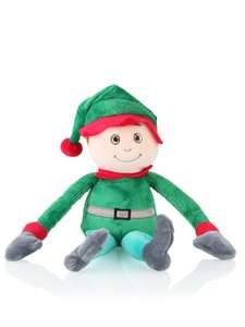 20cm Christmas elf soft toy @clintons £5