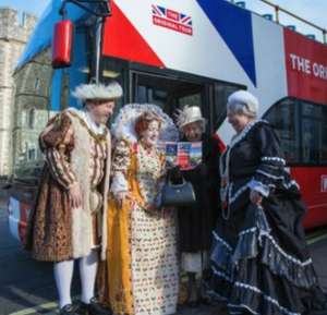 The Original Windsor Sightseeing Hop on / Hop Off Bus Tour £6.50pp / Kids go half price at KidZania after 1pm now £19.75 @ 365 Tickets
