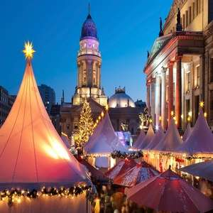 German Christmas Markets: 2 or 3 Nights at Choice of Hotels with Return Flights from £75.65 w/code @ Groupon