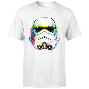 Star Wars Stormtrooper Paintbrush Art T-Shirt £8.99 Delivered @ Zavvi