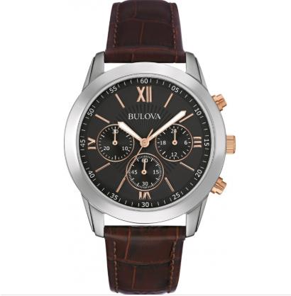 Bulova Men's Dress Brown Leather Watch £59 w/code @ Watches2U (With 3 year warranty)
