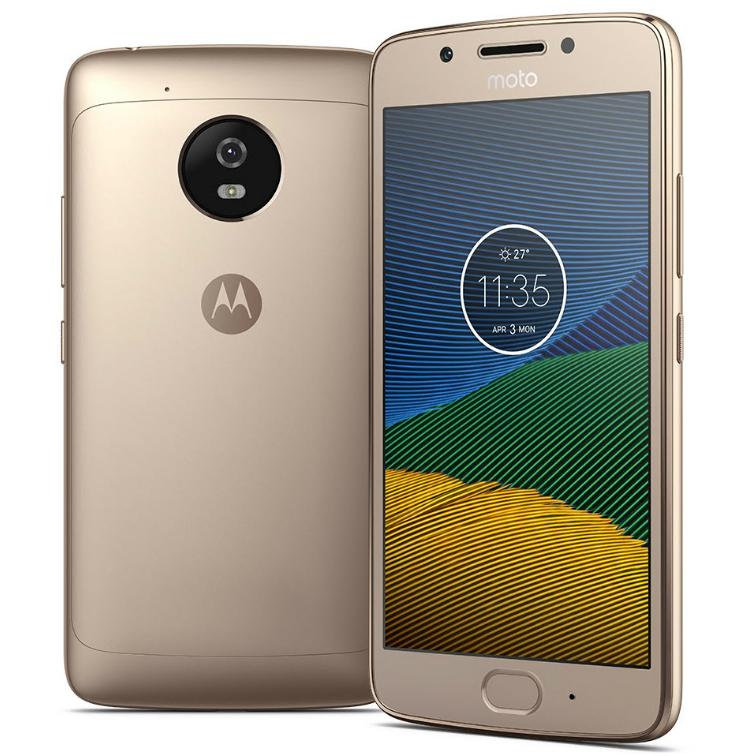 Moto G5 XT1676 Dual Sim FHD 1920x1080p Screen  SIM FREE/ UNLOCKED - Gold @ eGlobal Central for £97