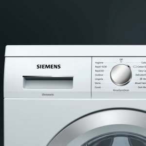 Trade in deal - £100 off Siemens iQ500 Washing Machine 8kg, 1400rpm £459 at John Lewis & Partners
