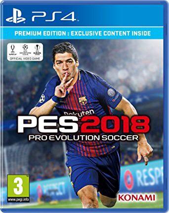 PES 2018 for PS4 £8.99 @ Base.com