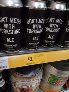 Northern Monk 'Dont Mess With Yorkshire' Ale 440ml can. Morrisons £2 (Doncaster)