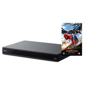 Sony UBPX800 Black - 4K UHD Blu-Ray Player with Integrated WiFi and Bluetooth with free copy of Spiderman: Homecoming £274 (£254 with code SUN20) @ Co-op Electrical