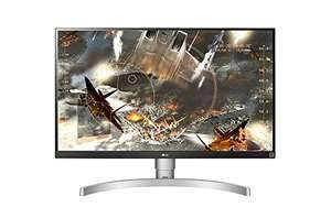 """LG 27"""" 4K  HDR IPS  Monitor (27UK650) with 99% sRGB coverage and height/pivot support for £359.99 @ Amazon"""