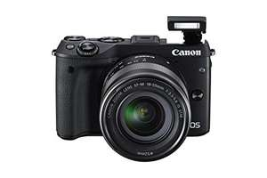 Canon EOS M3 Compact System Camera with EF-M 18-55 mm f/3.5-5 - £349.00 at amazon.co.uk
