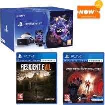 PlayStation VR Starter Pak + Resident Evil 7 Biohazard + The Persistence VR + Now TV Pass £199.99 @ Game