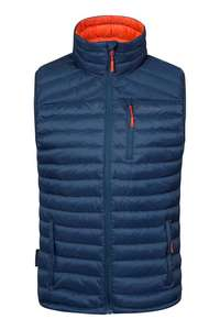 Mens Gilet delivered £44.49 with code + C&C @ Mountain Warehouse