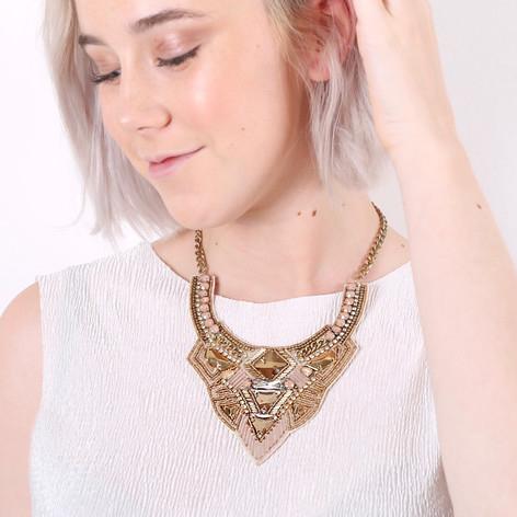 Lisa Angel Crystal Beaded Necklace £1 delivered