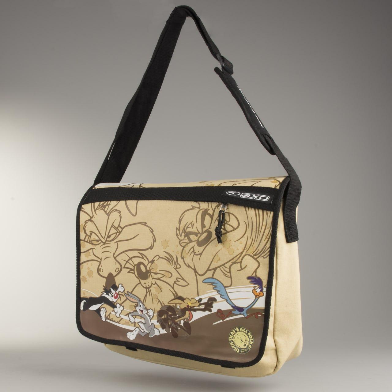 AXO Superman Shoulder Bag Looney Tunes Brown - £12.89 + £3.95 postage @ 24MX