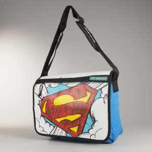 AXO Superman Shoulder Bag Blue-White - £12.89 + £3.95 shipping @ 24XL