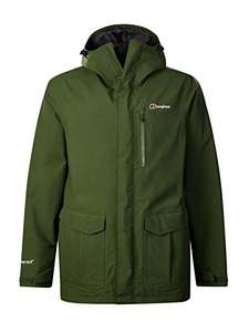 Berghaus Men's Hillmaster Waterproof Jacket size Small. Only colour Chive at this price £51.41 @ Amazon