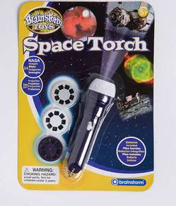 Brainstorm space torch £4.49 + £3.99 delivery at Find Me A Gift