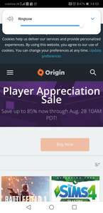 Origin sale Lots of games upto 85% off - titanfall 2 ultimate edition £8.74