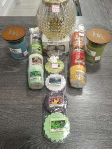 Yankee candles 50% off various instore at Yankee Candle Nottingham